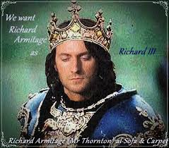 armitage iii richard armitage as richard iii fanart definately the long hair