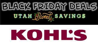 kohl s ps4 black friday kohl u0027s black friday ad 2016 u2013 live now u2013 utah sweet savings