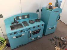Elc Wooden Toaster Set Elc Wooden Kitchen Ebay