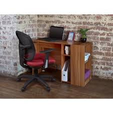 Cherry Desk Ameriwood Resort Cherry Desk With Storage 9111207p The Home Depot