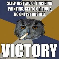 Art Student Owl Meme - image 270767 art student owl know your meme