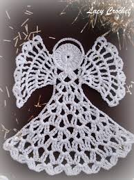 christmas angel ornament free crochet pattern description from