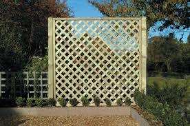 lattice garden fence gardening ideas