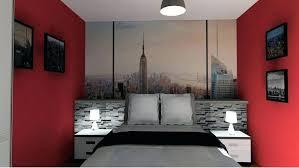 simulation chambre 3d 3d chambre chambre 3d theme york griffe deco conception 3d