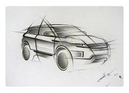 land rover drawing range rover evoque by lukasgelumbauskas on deviantart
