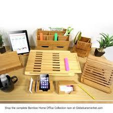 Desk Pencil Holder Natural Bamboo Wood Desk Pen Pencil Holder Cup Stand