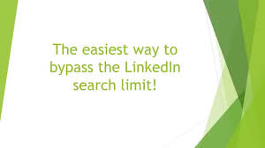 Extract Resume From Linkedin Unlimited Linkedin Search Without Having To Pay For A Premium