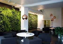 garden wall inside indoor garden in wall design ideas