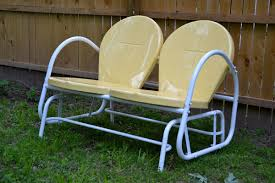 Antique Metal Patio Chairs Excellent Retro Outdoor Chair Throughout Antique Furniture Popular
