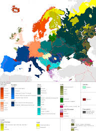 Map Of France And Surrounding Countries by How Do You Say One Europe Language European Languages And Note