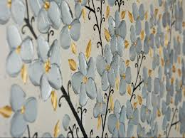 Large Wall Pictures by Silver Blossoms By Qiqigallery 48