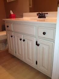 painting bathroom cabinets color ideas how to paint oak bathroom cabinets black nrtradiant