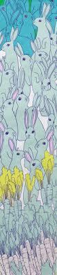 rabbit material large rabbit fabric henry hare