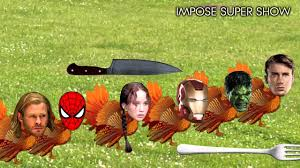 comical thanksgiving pictures the avengers thanksgiving turkeys fight the hunger games funny