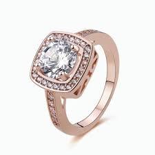 womens diamond rings size 6 10 womens fashion jewelry gold filled topaz wedding