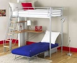 Bunk Bed Futon Desk Loft Beds With Desk And Futon Foter
