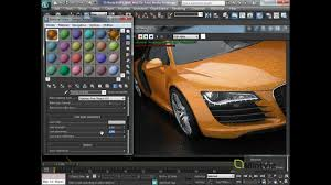 metallic car paint using the v ray car paint material youtube