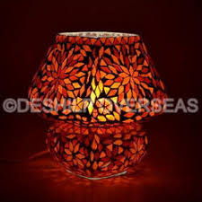 Mosaic Table Lamp Table Lamp Manufacturer From Firozabad