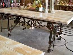 wrought iron pedestal table base wrought iron dining table bases s regarding base architecture 4
