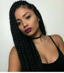 box plaits hairstyles unique box braids hairstyles updo big box braids styles pictures