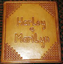 fashioned photo albums personalized leather scrapbooks memory books photo albums