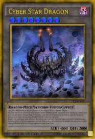 cyber star dragon custom yu gi oh cards yu gi oh custom