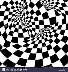 Checkered Flag Ribbon Racing Background With Checkered Flag Vector Illustration Eps10