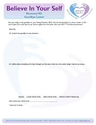 Write Certification Letter Goodbye Letter To The Eating Disorder Editcertified