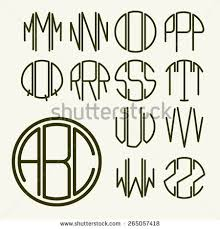 letter monogram monogram letters stock images royalty free images vectors