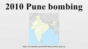 Pune India Map by 2010 Pune Bombing Youtube