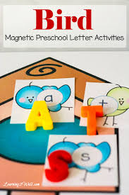 bird preschool letter activities learning 2 walk