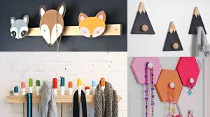 20 diy wall hooks to hang your items at home home design lover
