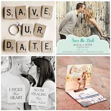 best save the dates 6 best images of save the date ideas engagement save the date