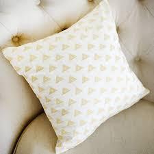tribal pillow gold pillow aztec nursery pillows