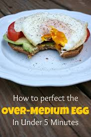 how to make the perfect over medium egg a healthy slice of life