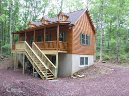 Log Cabin Floor Plans With Basement Cape Cod Tiny Log Cabins Manufactured In Pa