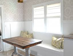 Kitchen Nook Table And Chairs by Kitchen Diy Nook Cushions Table Bench Designs Eiforces