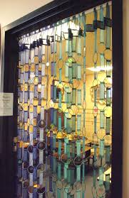 Beaded Window Curtains Hippie Beaded Bangle Door Window Curtain Groovy Vintage Retro