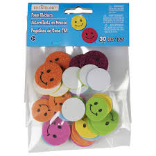 Smiley Face Vase Creatology Foam Stickers Smiley Face