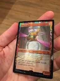 sign magic cards howard lyon and illustration