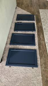 blue endeavor kitchen cabinets jeffrey court renovation challenge week 5 tiling newbuild