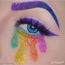 instagram paint mixing in honor of pride month take a cue from eyeshadow creations