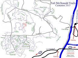 Seattle Bike Trail Map by Tolt Macdonald