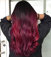 black hair to raspberry hair 31 best red ombre hair color ideas beauty