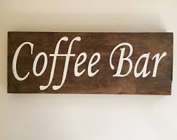 Coffee Wall Decor For Kitchen Coffee Decor Etsy
