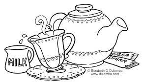 dulemba coloring tuesday tea