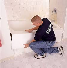 How To Install A New Bathtub Faucet Install New Bathtub Make Sure The Subfloor Isn T Damaged And Is