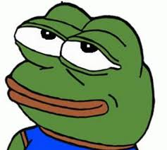 Smiling Crying Face Meme - ideal smiling crying face meme sad pepe find share on giphy