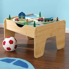 carousel train table set kidkraft activity 2 in 1 kids square train table reviews