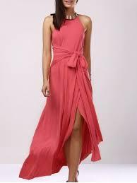light pink halter dress light pink s backless bridesmaid prom halter swing long dress